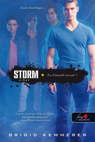 Brigid Kemmerer: Storm - Vihar (Elementál 1.)